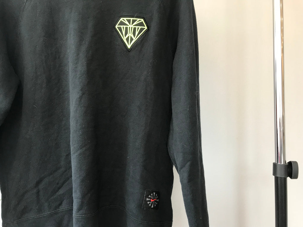 Nike Diamond Sweatshirt - Black - Medium