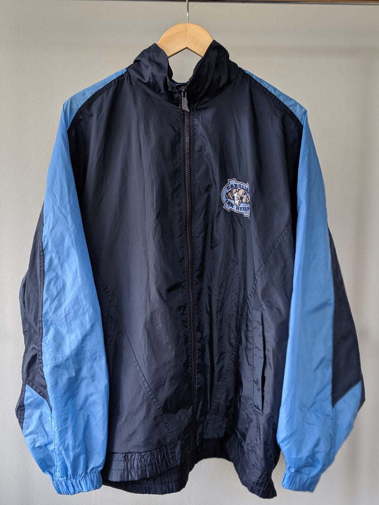 Reebok Carolina Tar Hells 'North Catalonia' Rainproof Jacket - Large