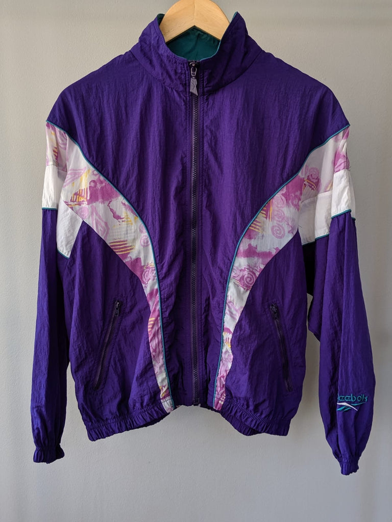 Reebok Lightweight Jacket - Purple - Small