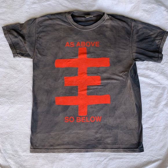 As Above, So Below custom sun bleach