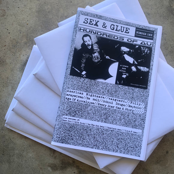 Sex & Glue Zine issue #1