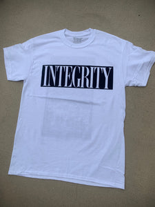 "Integrity ""ghost"" white shirt /13"