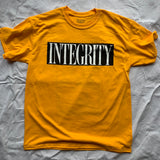 "Integrity ""ghost"" gold shirt (second press)/12"