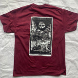 "Integrity ""ghost"" maroon shirt /23"