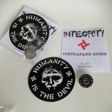 "Integrity ""Humanity is the Devil"" pin pack /66"