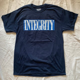 "Integrity ""ghost"" nevy shirt"