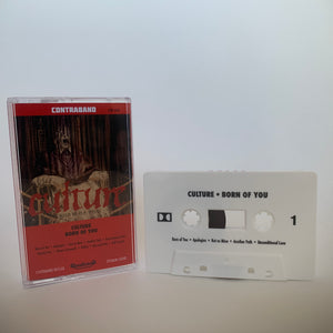 "Culture ""Born Of You"" cassette (white /50)"