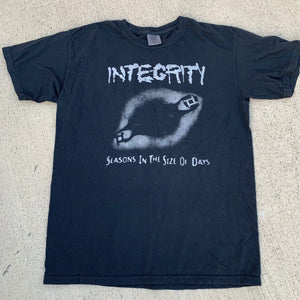 "Integrity ""Seasons In The Size Of Days"" black short sleeve"