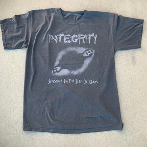 "Integrity ""Seasons In The Size Of Days"" pepper gray short sleeve"