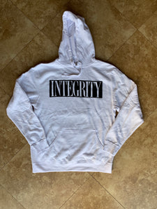 "Integrity ""ghost"" white hoodie /2"