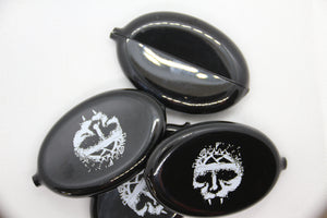 "Integrity coin purse ""the blackest purse"""