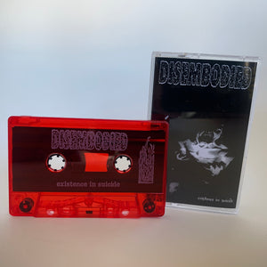 "Disembodied ""existence in suicide"" red tape /50"