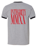 "Integrity ""MMXX"" shirt pre-order (Red Rum)"