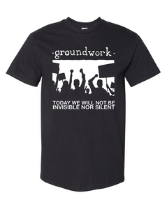 "Groundwork ""today we will not..."" reprint"
