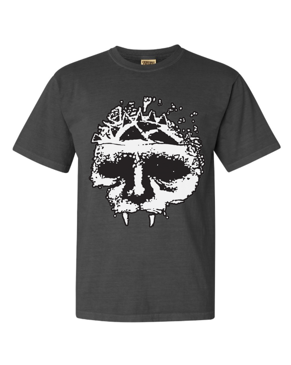 Integrity skull washed black