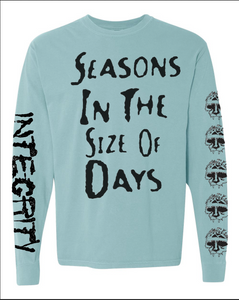 "Integrity ""Seasons In The Size Of Days"" long sleeve pre-order"