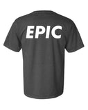 """epic"" washed black shirt"