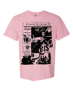 """fight for freedom"" pink"