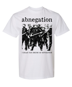 "Abnegation ""revolution"" benefit shirt"