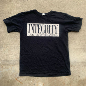"Integrity ""haunted of the world"" 1 of a kind shirt medium"