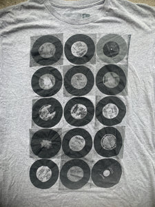 "Super 7 ""records"" size large shirt"