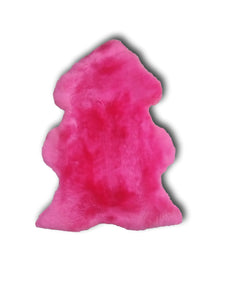 Fuchsia Sheepskin Single and Double - Barnscroft.com