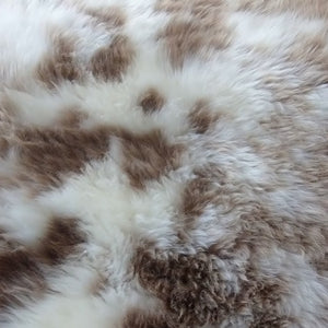 Naturally Spotty Sheepskin - Barnscroft.com
