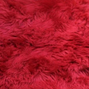 Red Sheepskin Single and Double - Barnscroft.com