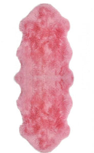 Pink Sheepskin Single and Double - Barnscroft.com