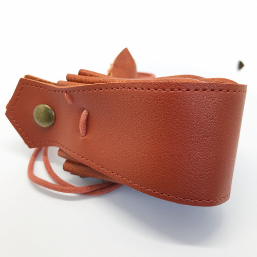 Lindorm Viking Dice Pouch (faux leather / vegan friendly)