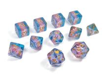 Load image into Gallery viewer, Translucent Transgender Pride - HeartBeatDice