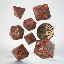 Load image into Gallery viewer, Witcher Dice Set - Geralt The Monster Slayer