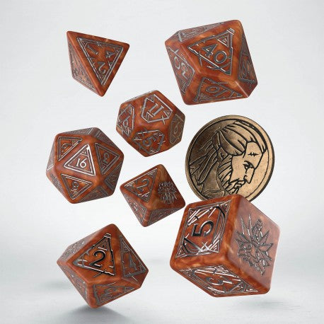 Witcher Dice Set - Geralt The Monster Slayer
