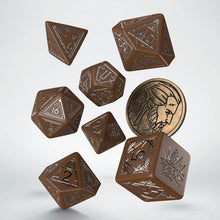 Load image into Gallery viewer, Witcher Dice Set - Geralt Roach's Companion
