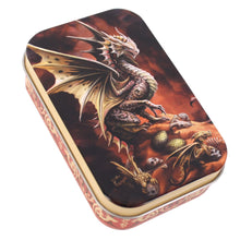 Load image into Gallery viewer, Desert Dragon - Dice Tin + MYSTERY SET! -  RPG Dice Set, CritKit