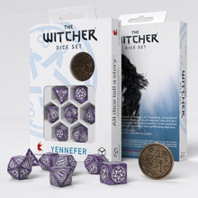 Load image into Gallery viewer, Witcher Dice Set - Yennefer Lilac and Gooseberry