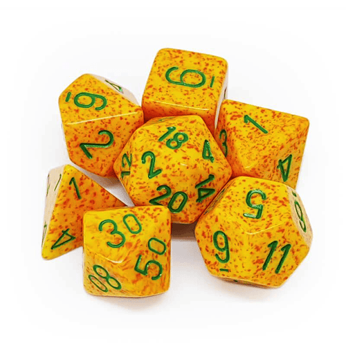 Speckled Lotus -  RPG Dice Set, CritKit