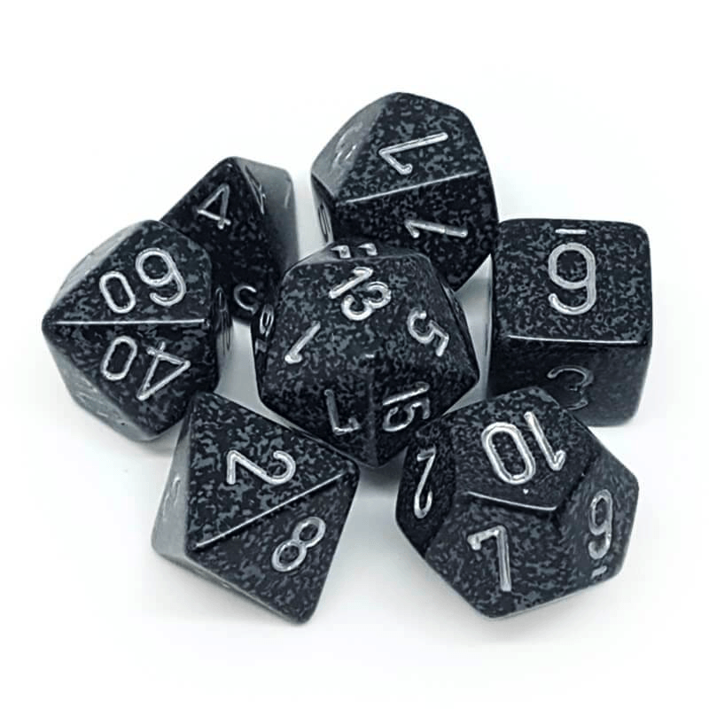 Speckled Ninja -  RPG Dice Set, CritKit