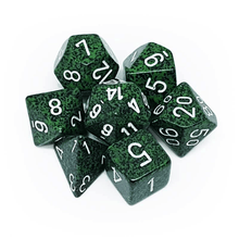 Load image into Gallery viewer, Speckled Recon -  RPG Dice Set, CritKit