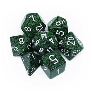 Speckled Recon -  RPG Dice Set, CritKit