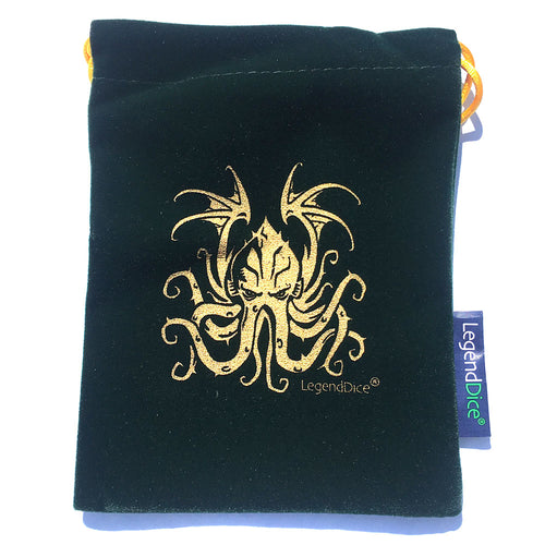 Cthulhu Dice Bags -  RPG Dice Set, CritKit