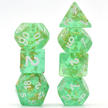 Load image into Gallery viewer, Elven Treasures -  RPG Dice Set, CritKit