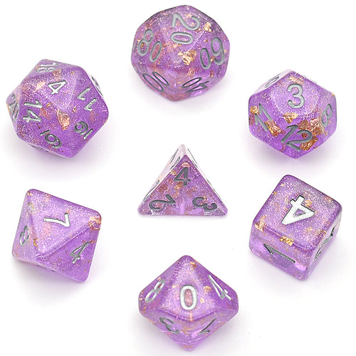 Enchanted Gold -  RPG Dice Set, CritKit