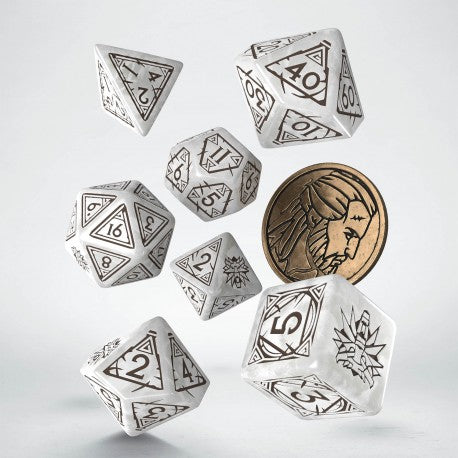 Witcher Dice Set - Geralt The White Wolf