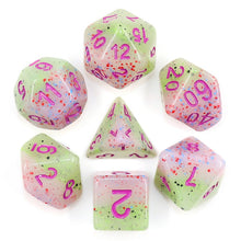 Load image into Gallery viewer, Provence Lavender -  RPG Dice Set, CritKit