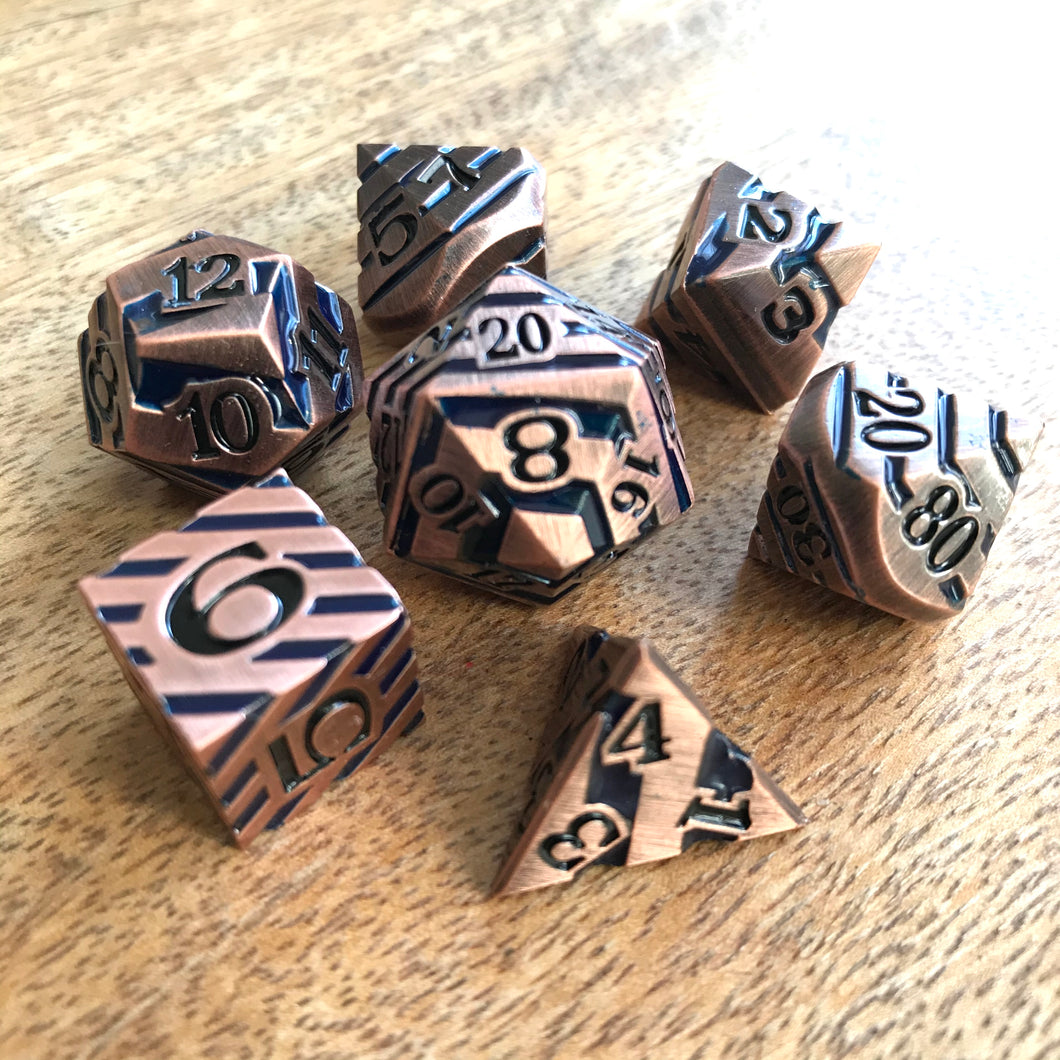 Vertigo Bronze - Metal Dice