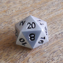 Load image into Gallery viewer, Metal Dice Set -  RPG Dice Set, CritKit