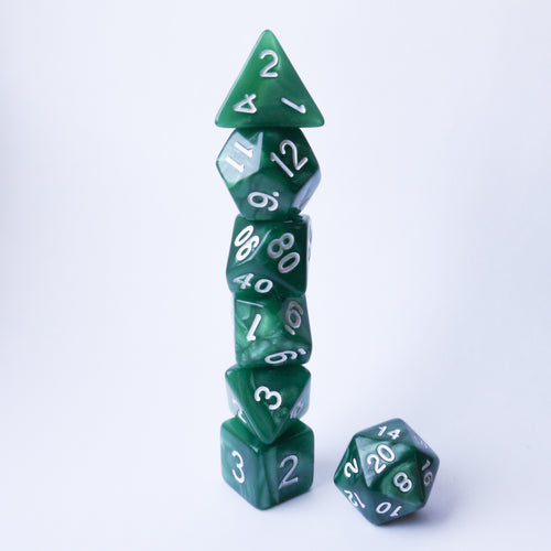Primal Forest -  RPG Dice Set, CritKit
