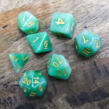 Load image into Gallery viewer, Druid Stone -  RPG Dice Set, CritKit