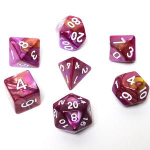 Scarlet Lady -  RPG Dice Set, CritKit